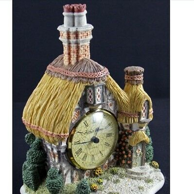 Antique Authentic Father Time Clock 1991 Manor House Handmade And Handpainted
