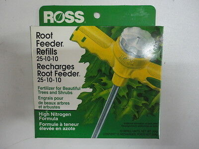 Wholesale Lot of 60 Ross High Nitrogen Formula Root Refills Free Ship! 25-10-10