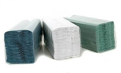 Pack of 2400 Paper White C-Fold Hand Towels 2Ply Catering Janitorial Cleaning