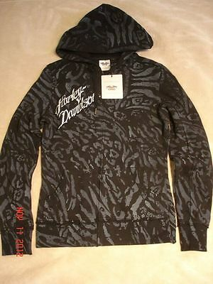 Harley Davidson Women's ACTIVEWEAR Hoodie Bling! Bling! Size Small New