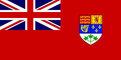 5' x 3' Canada Red Ensign Flag 1921-1957 Canadian World War II Banner