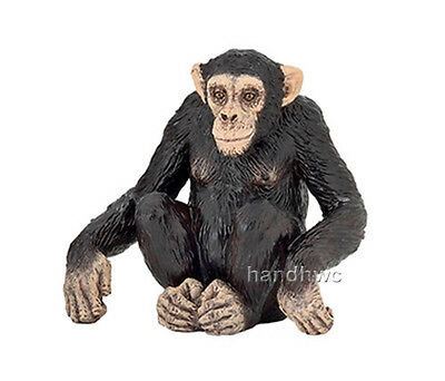 Papo 50106 Chimpanzee Adult Wild Animal Figurine Model Toy Replica - NIP