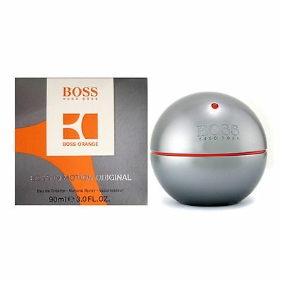Boss in Motion Hugo Boss 3.0 oz Men edt Eau de Toilette Cologne New in Box