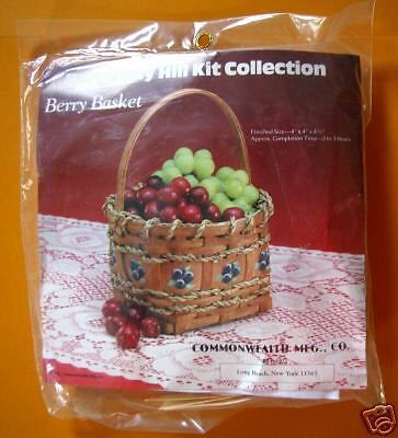 Berry Basket Making Kit New Burgundy Hill
