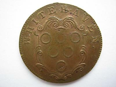 Whitehaven Colliery token, Lowther family c1705 (1)