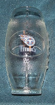 Tennessee Titans~Miller Lite Beer~Football Glass~24 Oz.