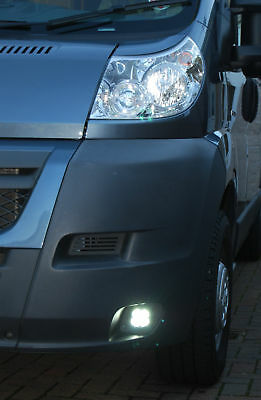 Day Running Lights Kit DRL Fiat Ducato Van Motorhome 2007 to 2014