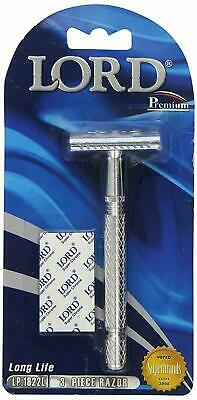 Lord Merkur Type Head Model L6 Premium Safety Razor. Great Razor!!!