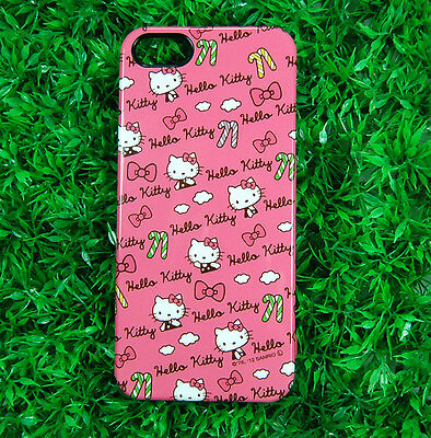 Hello Kitty Pink Sweet  Genuine Sanrio iPhone 5 5S hard case cover polka dot