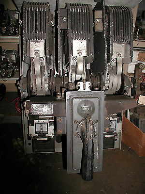 ITE Type KC 800A 600V Air Circuit Breaker Inst. Trip 4000A