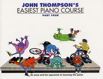 John Thompson's Easiest Piano Course: Part 4 (Revised Edi... WMR000242