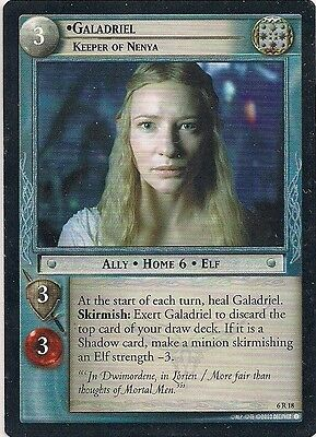 Lord of the Rings CCG - EOF - Galadriel Keeper of Nenya #18 Rare