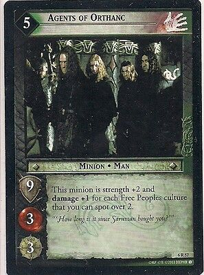 Lord of the Rings CCG - EOF - Agents of Orthanc #57 Rare