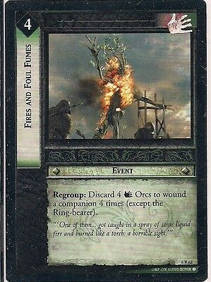 Lord of the Rings CCG - EOF - Fires and Foul Fumes #62 Rare