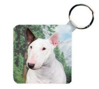Bull  Terrier    Personalized  Breed   Key   Chain