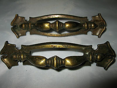 Pair of Brass Drawer Pulls