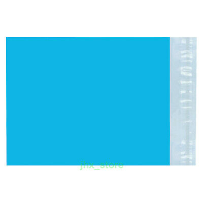 """30 Blue Envelopes Mailers Poly Mailing Bags 6.7"""" x 6""""_170 x 160+40mm"""