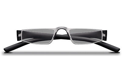 d2d69117e074 ... PORSCHE DESIGN READING Glasses Model P8801A Black Silver 199 00