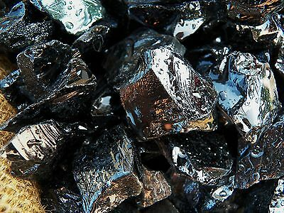 2000 Carat Lots of Black Obsidian Rough - Plus a FREE Faceted Gemstone