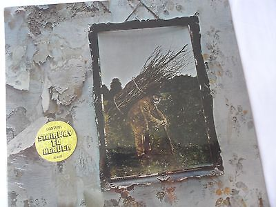 Sealed original 'LED ZEPPELIN IV' LP w/STICKERS  SD-7208