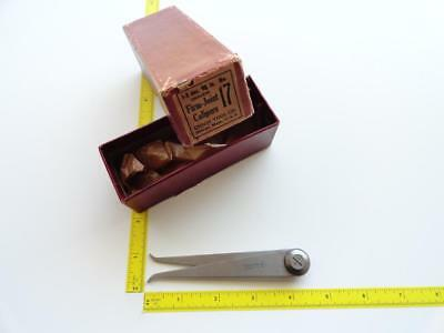 """VTG Union No.17 4"""" Millers Firm Joint Inside Calipers Machinist NOS Rare USA NEW"""