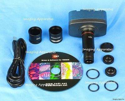 3.1 Mp Usb Microscope Digital Camera Video Eyepiece 4 Windows & Mac Os10 System