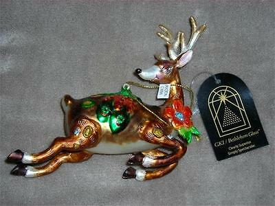 GKI/ Flying Reindeer Ornaments from GKI/ Bethlehem Lighting~NIB