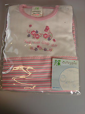 Baby Girls 4 Piece Set Sizes 0/3 & 6/9 Months