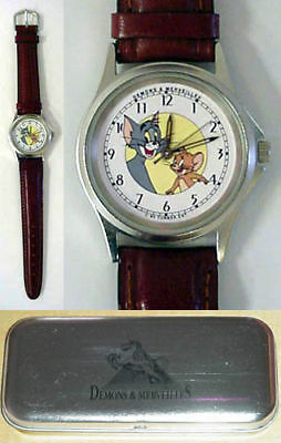 Nib Tom & Jerry Watch Hanna-Barbera Character  Watch Wristwatch H-B Cartoon