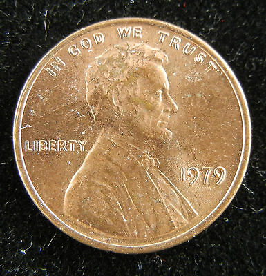 1979 LINCOLN MEMORIAL CENT - RED Cartwheel