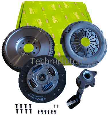 Dual Mass To Smf Flywheel And Valeo Clutch, Csc For Ford Mondeo Mk3 2.0 6 Tdci