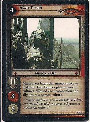 Lord of the Rings CCG - EOF - Gate Picket #101 Rare