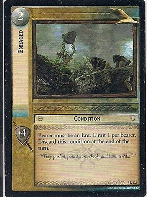 Lord of the Rings CCG - EOF - Alternate Enraged #123 Rare