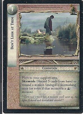 Lord of the Rings CCG - EOF - Alternate Don't Look at Them #125 Rare