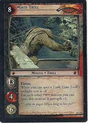 Lord of the Rings CCG - EOF - Alternate Gate Troll #128 Rare