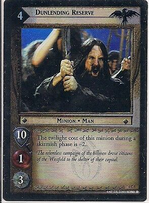 Lord of the Rings CCG - EOF - Dunlending Reserve #5 Foil