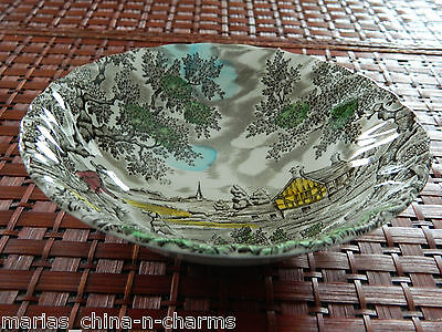 The Hunter by Myott Hand Engraved CEREAL SOUP BOWL ENGLAND Permanent Colors