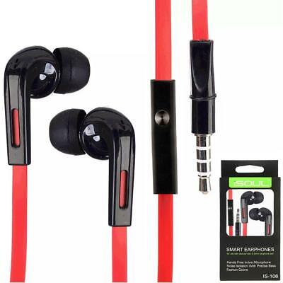 Mega Bass In Ear Earbud Headphone Earphones Headset Hands-Free For Mobile Phone