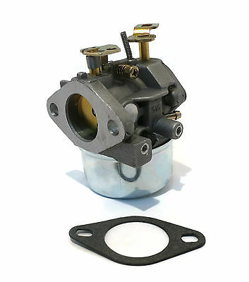 New CARBURETOR & Gasket for Tecumseh 8hp 9hp HMSK80 HMSK90 Snowblowers
