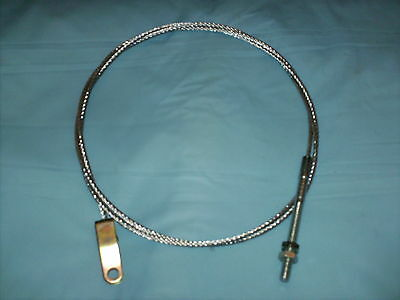 FORD CORTINA MK2 NEW FRONT HAND PART BRAKE CABLE (floor&dash mounted) 1966-1970