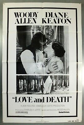 Love And Death -Woody Allen / Diane Keaton- Original American 1Sht Movie Poster