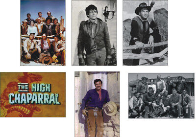 The High Chaparral Cowboy Great New POSTCARD Set