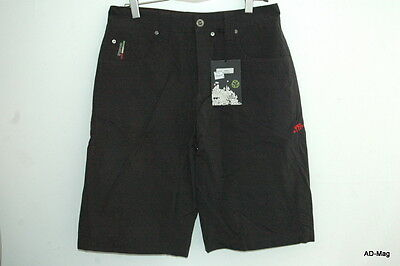 Short type Bermuda - SOMBRIO (VTT) - Badass Pitch Black - Taille S ou L - NEUF