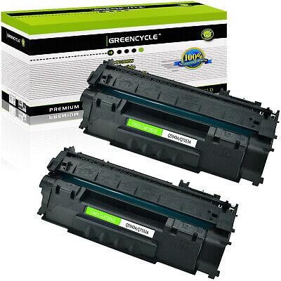 2PK 53A Q7553A Toner Cartridge For HP LaserJet P2015 P2015dn P2015x M2727 MFP
