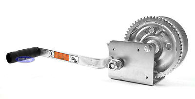 BOAT TRAILER WINCH Hand Crank Dutton-Lainson USA Made 1600 Lbs DL1602A