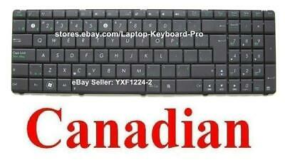 ASUS X53E Keyboard Clavier - Canadian