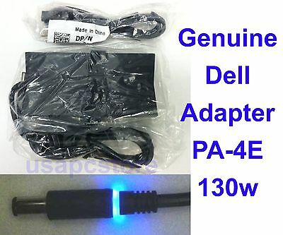 new genuine dell latitude power adapter pa-4e ac charger 130w 0ju012 0vjch5
