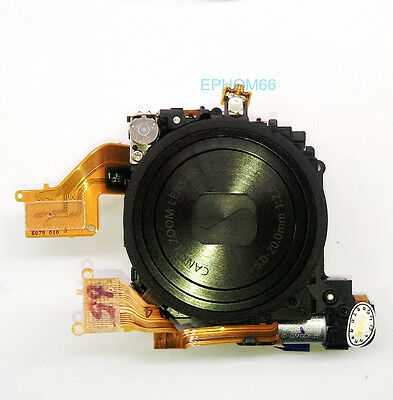 Original Lens Zoom Unit For CANON Powershot IXUS130 SD1400 IS with CCD Black