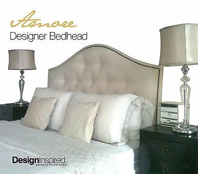 AMORE Upholstered Bedhead for Queen Ensemble - DIVINE