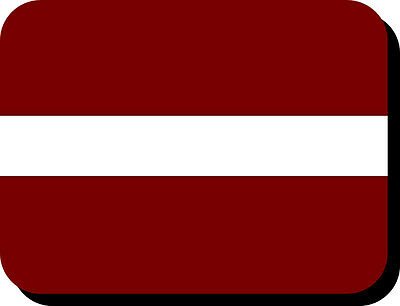 Latvian Flag Mousemat  Free Personalisation